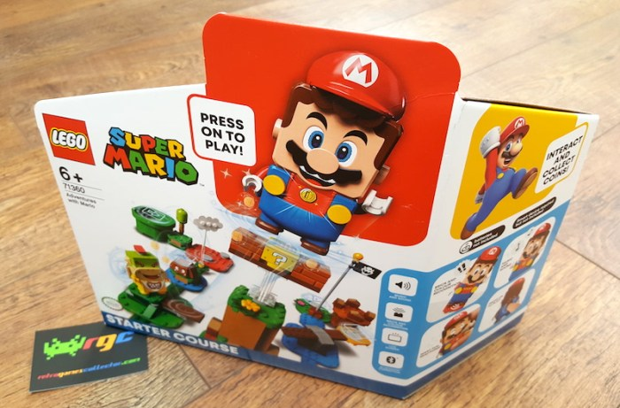 lego adventures with mario starter course