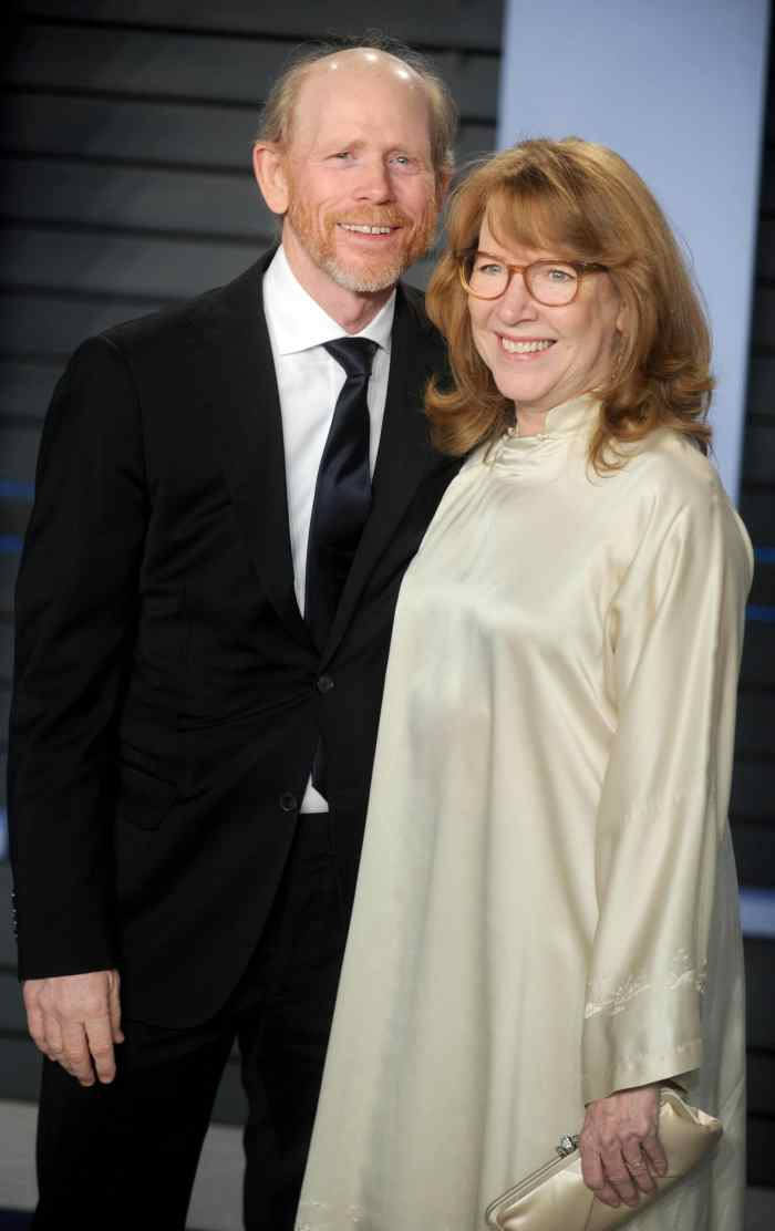 ron howard and his wife cheryl