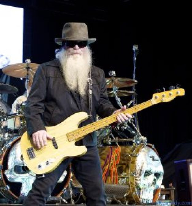 The late Dusty Hill, husband of actress Charleen McCrory