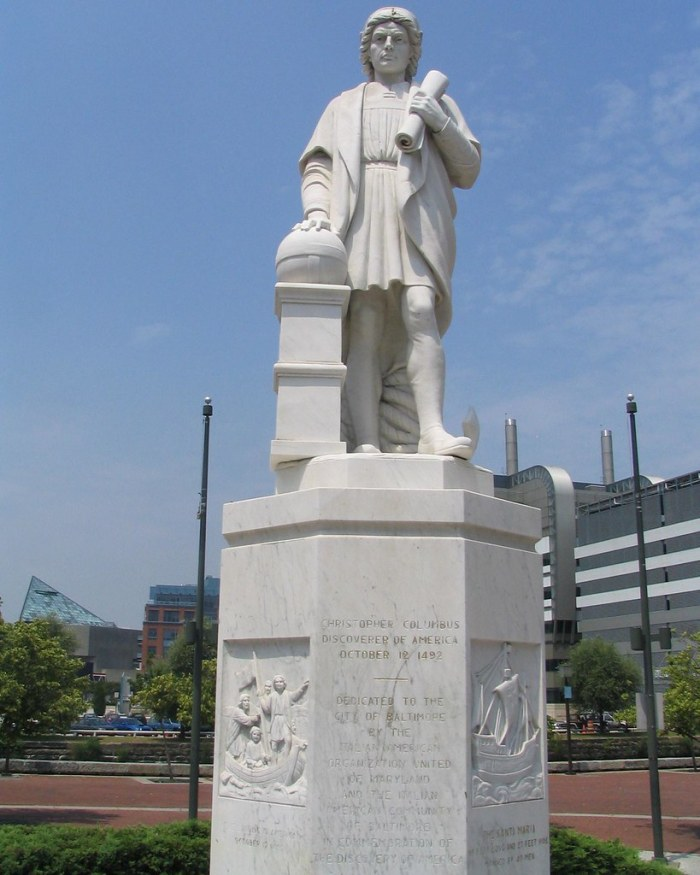Protestors Vandalize President Roosevelt And Lincoln Statues In 'Rage Event' Against Columbus Day