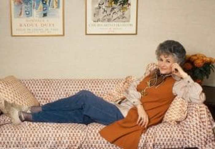 One of several photos of Arthur as Maude, her big starring role before The Golden Girls