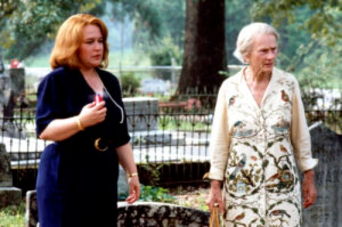Left to right, Kathy Bates and Jessica Tandy in Fried Green Tomatoes