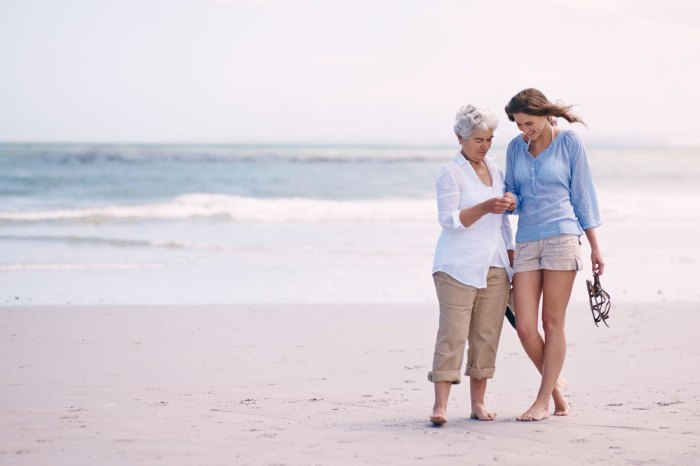 mother daughter trips health benefits