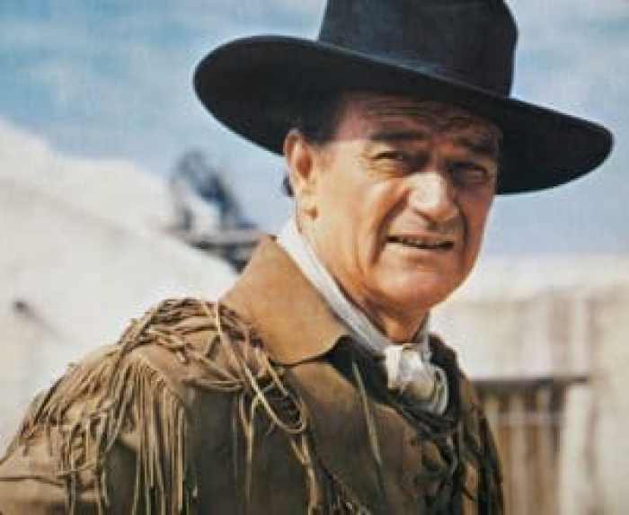 One track recited by John Wayne explores the Pledge of Allegiance and what it means for America