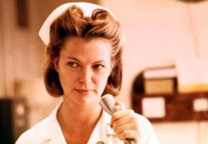 Louise Fletcher once totally stripped to try and win over friends with her castmates