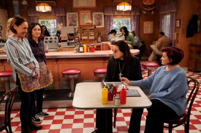 the conners jackie darlene ozzy and sharon osbourne lunch box