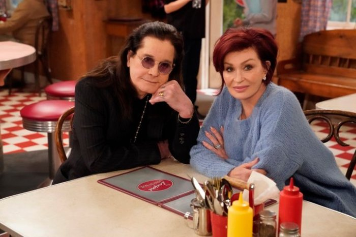 sharon and ozzy osbourne on the conners