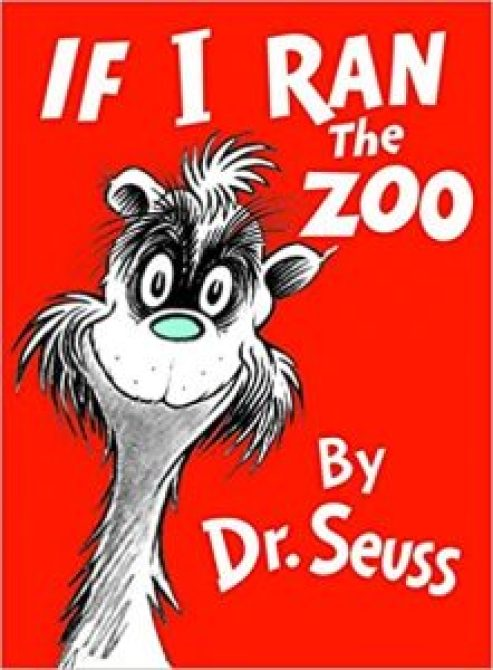 If I Ran The Zoo was removed from further publication. The book includes musings of putting human-analogs into a zoo as animals