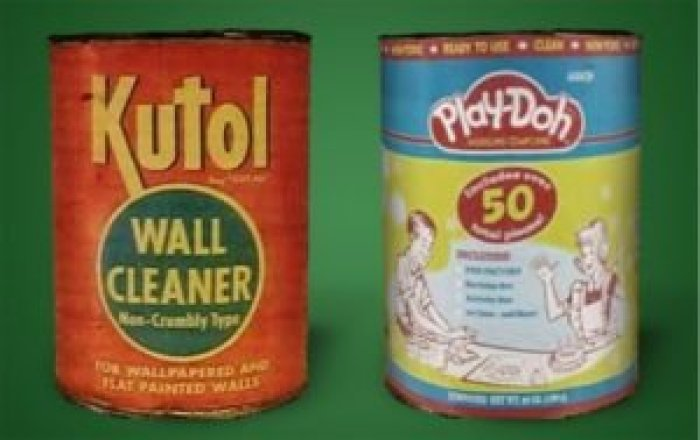 Kutol managed to stay afloat by making wallpaper cleaner, but the changing times brought new demands