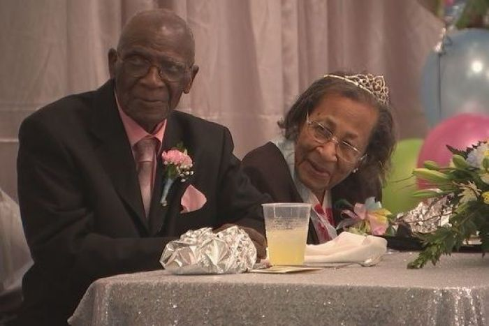 100 year old couple