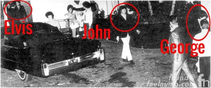 Priscilla Presley Discusses The Awkward Meeting Between Elvis And John Lennon