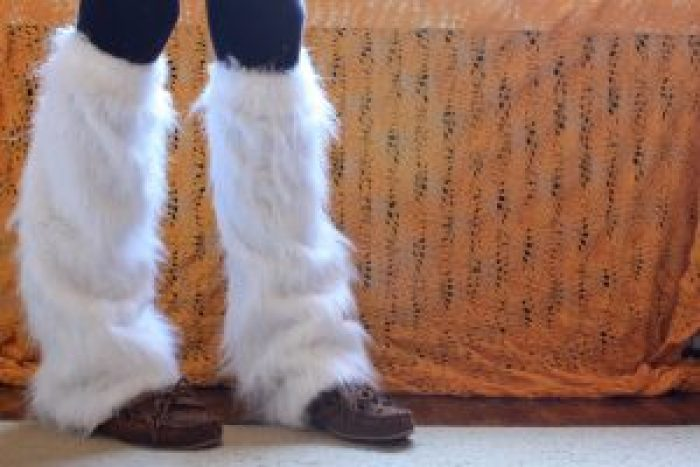 Leg warmers could be worn by anyone looking for help against a chill