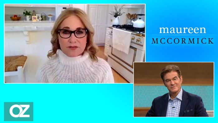 Maureen McCormick on 'The Dr. Oz Show'