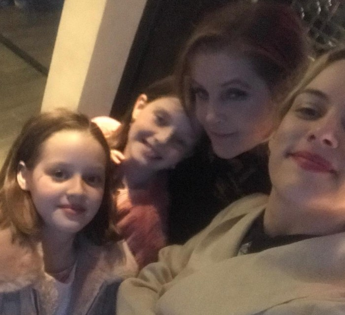 lisa marie presley and her girls