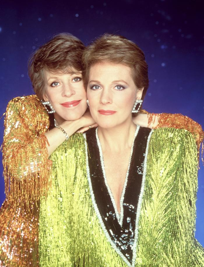 This Former First Lady Caught Julie Andrews Kissing Carol Burnett