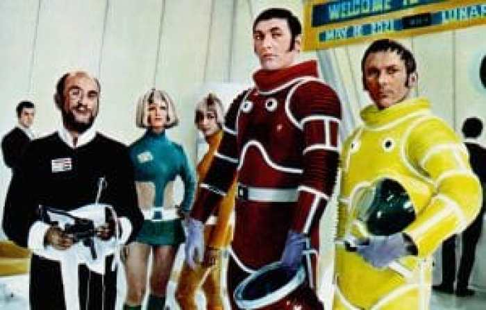 The bright colors and campy wester-esque action of Moon Zero Two make it more a product of its time than a prediction of the future