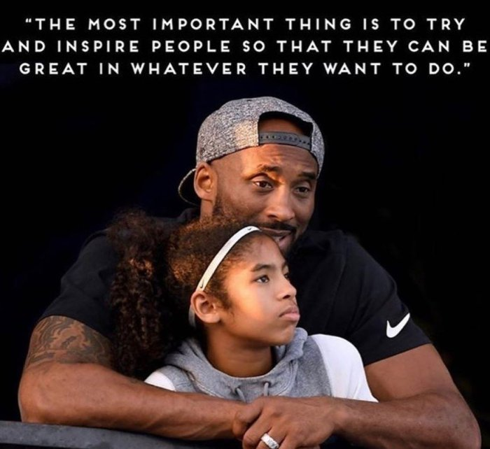 kobe bryant daughter quote