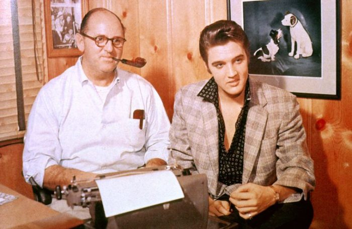 elvis presley colonel tom parker