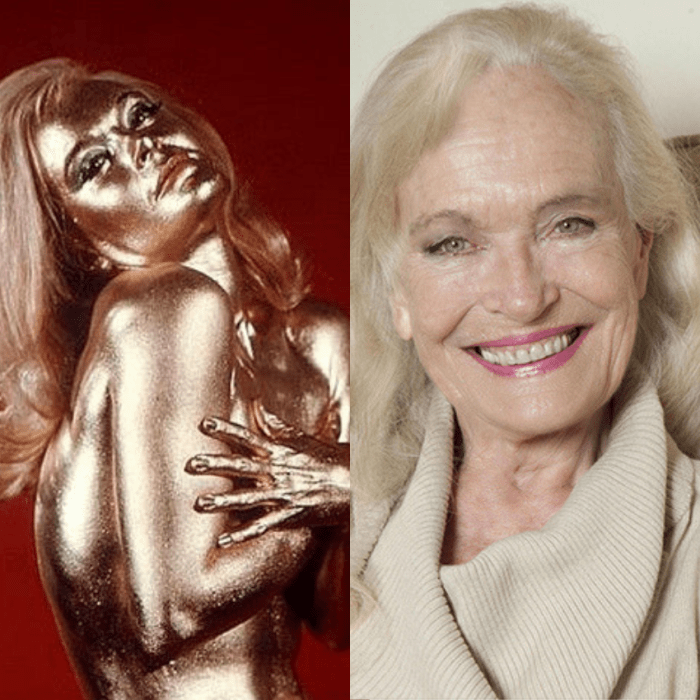Shirley Eaton in Goldfinger and also more recently.