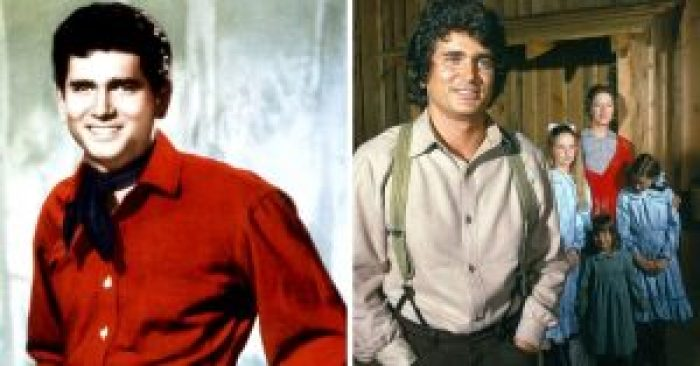 Michael Landon then and after