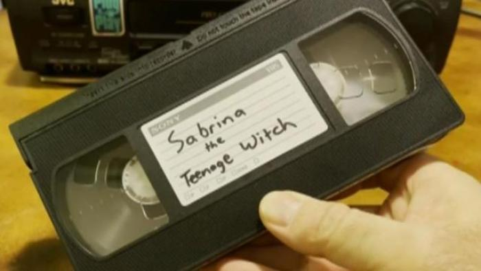 Sabrina the Teenage Witch VHS tape