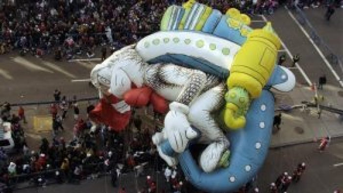 The Cat in the Hat provided the most disasterous of the Macy's Thanksgiving Parade balloon incidents