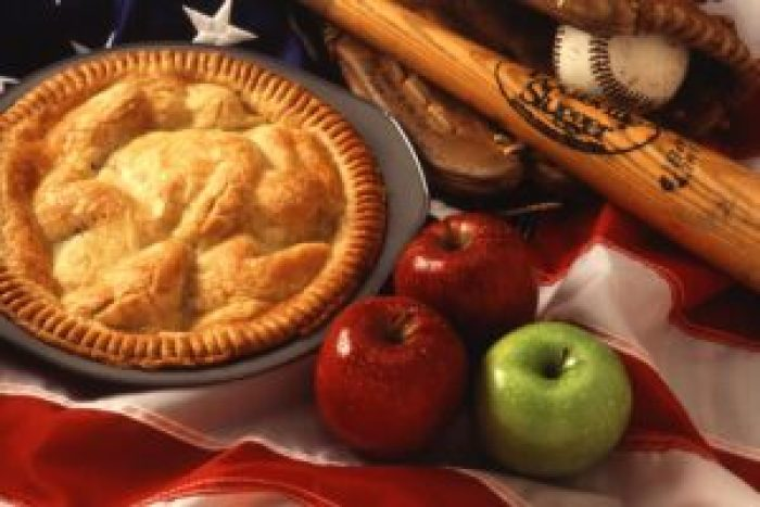 Today, apple pie is an American classic
