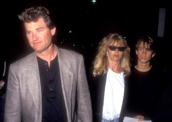 Kurt Russell, Goldie Hawn, and Oliver Hudson
