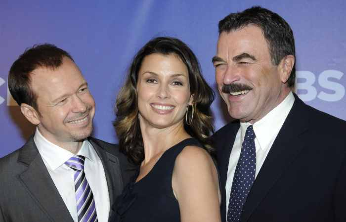 Donnie Wahlberg, Bridget Moynahan and Tom Selleck