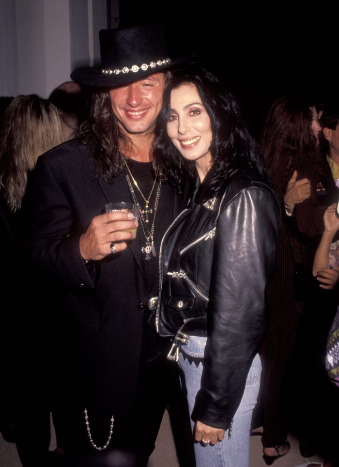 Richie Sambora and Cher