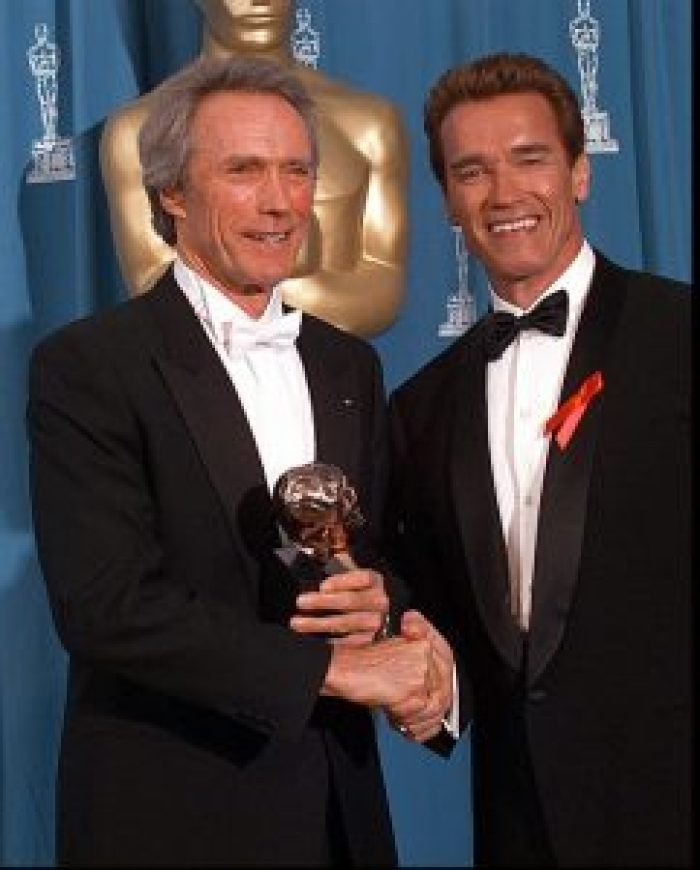 The two appeared together almost 25 years ago at the 67th Annual Academy Awards in 1995