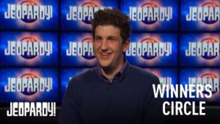 Amodio scored another win on the game show, inching closer to the top each time