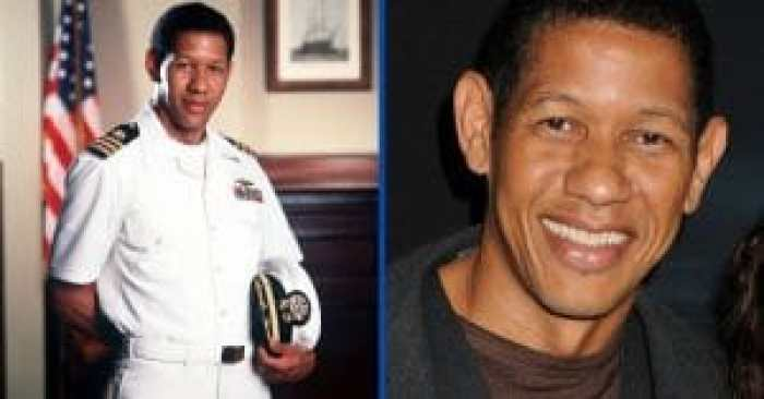 JAG actor Scott Lawrence then and now
