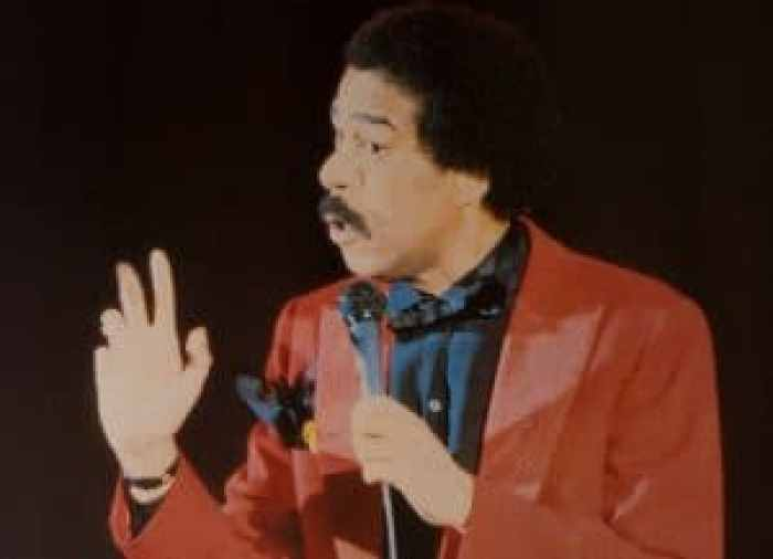 Richard Pryor, a celebrated actor, but first and foremost, a wildly influential comedian