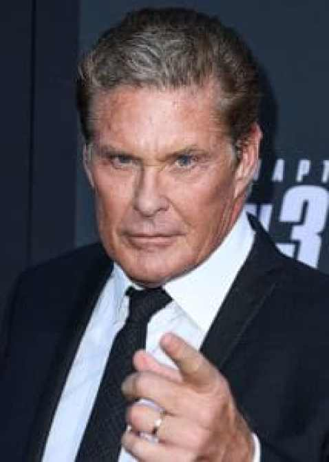 David Hasselhoff stays active in the industry