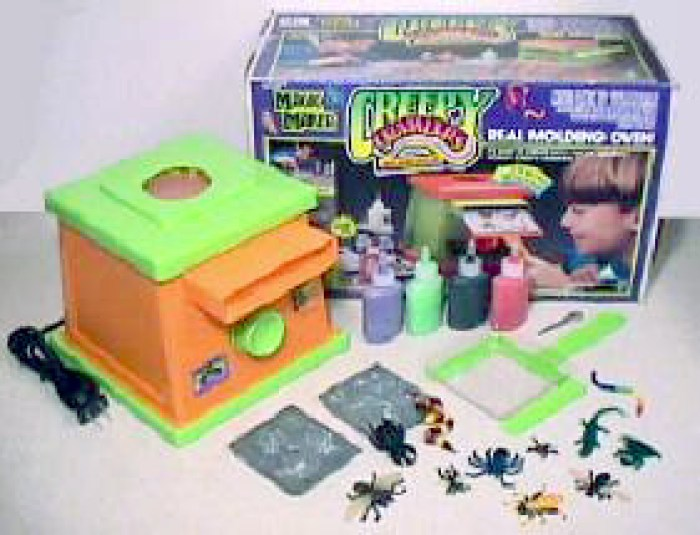 Creepy Crawlers made with a Thingmaker still generate nostalgia