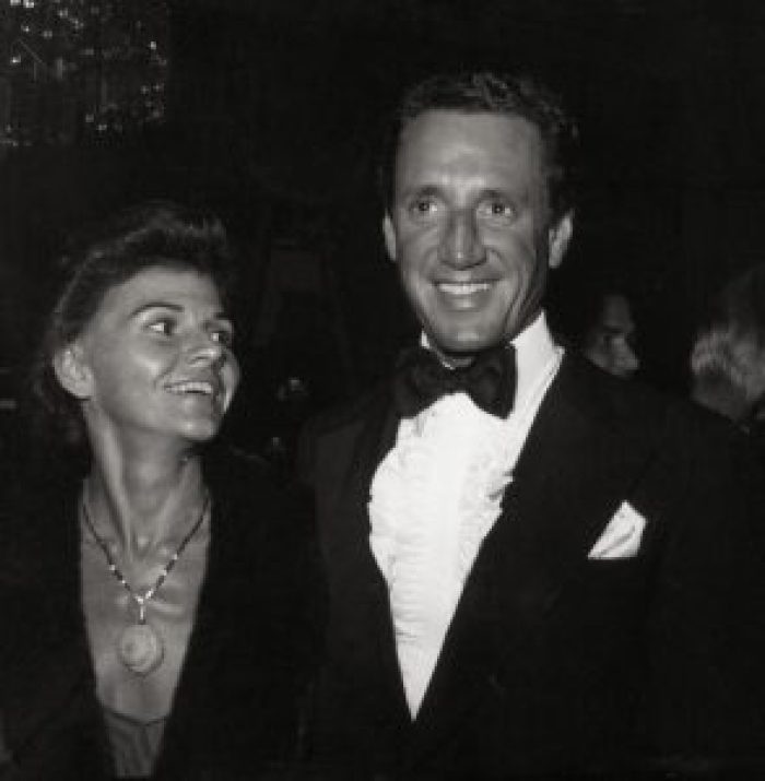 Roy Scheider and his wife at the Golden Globes