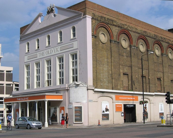the old vic theater london