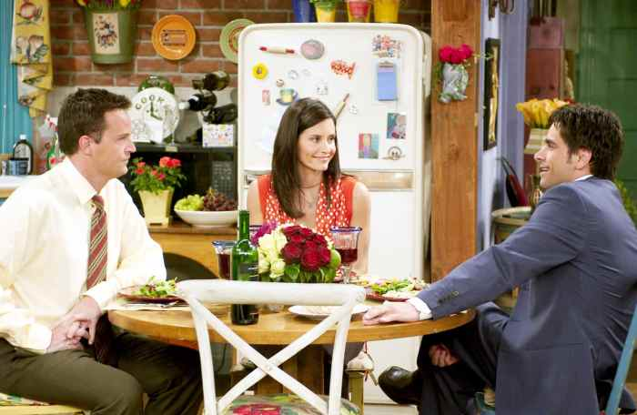 FRIENDS, Matthew Perry, Courteney Cox, John Stamos, 'The One With The Donor'