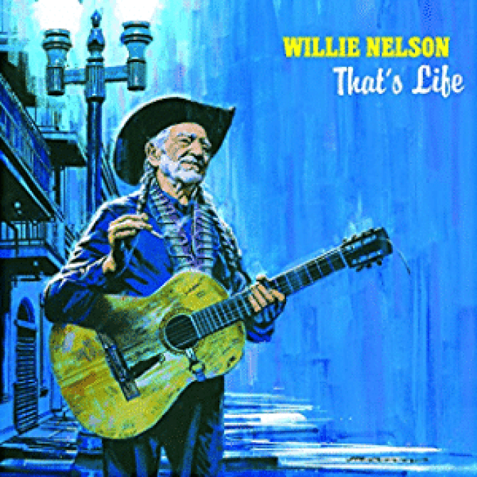 Willie Nelson's latest album taps into his respect for Frank Sinatra's work