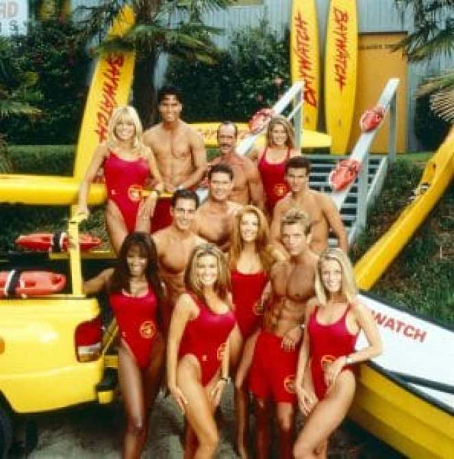 The cast of Baywatch