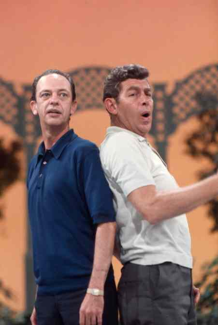 THE ANDY GRIFFITH, DON KNOTTS, JIM NABORS SHOW, Andy Griffith, Don Knotts