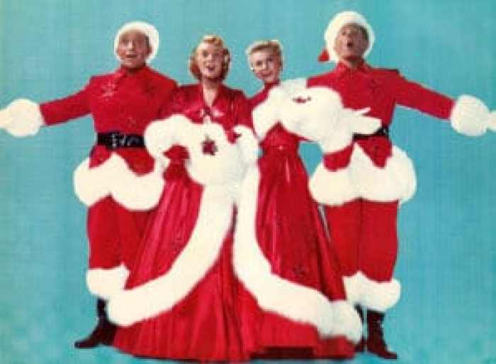 Bing Crosby, Rosemary Clooney, Vera-Ellen, Danny Kaye in White Christmas