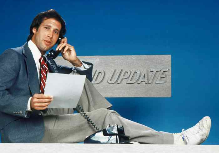 SATURDAY NIGHT LIVE, ('Weekend Update', Season 1), Chevy Chase, 1975-