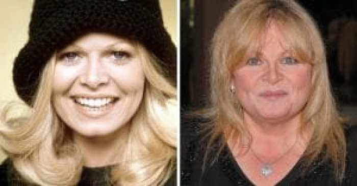 Sally Struthers in the cast of All in the Family and today