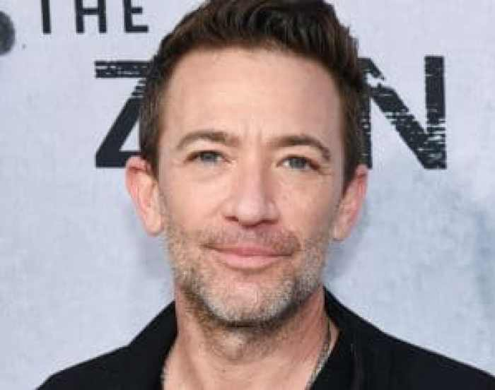 Actor, songwriter, and voice actor David Faustino