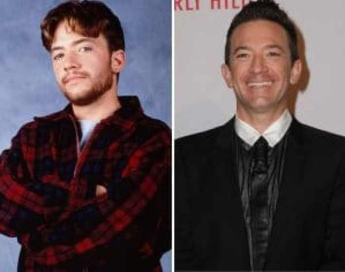 David Faustino then and now