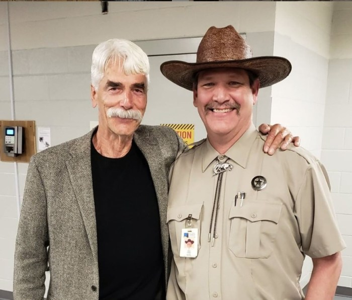 National Cowboy & Western Heritage Museum security guard tim and sam elliott