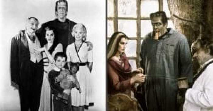 Color -and its absence - played a big role in The Munsters