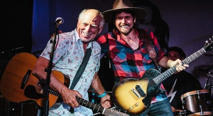 Jimmy Buffett and Willie Nelson's son, Lukas